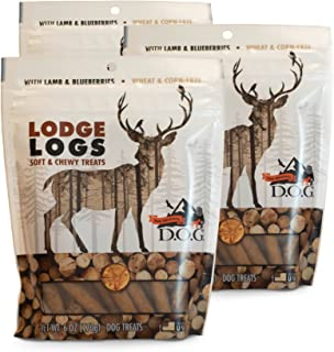The Original DOG Pet Snacks: Grain-Free Natural Soft and Chewy Dog Treats in 3-6 Ounce Resealable Bags