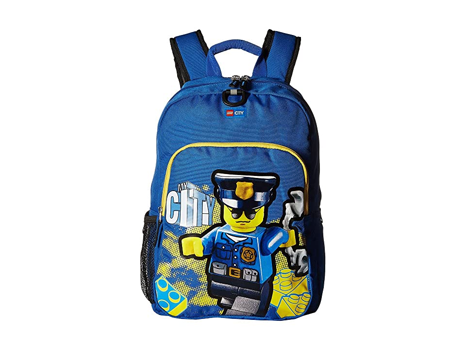 LEGO City Police Heritage Classic Backpack (Blue) Backpack Bags