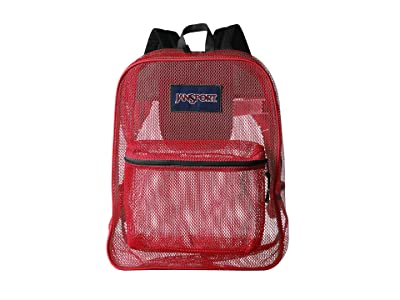 JanSport Mesh Pack (High Risk Red) Backpack Bags