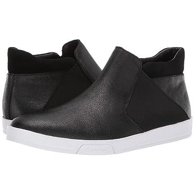 Calvin Klein Basilio (Black Small Tumbled Leather) Men