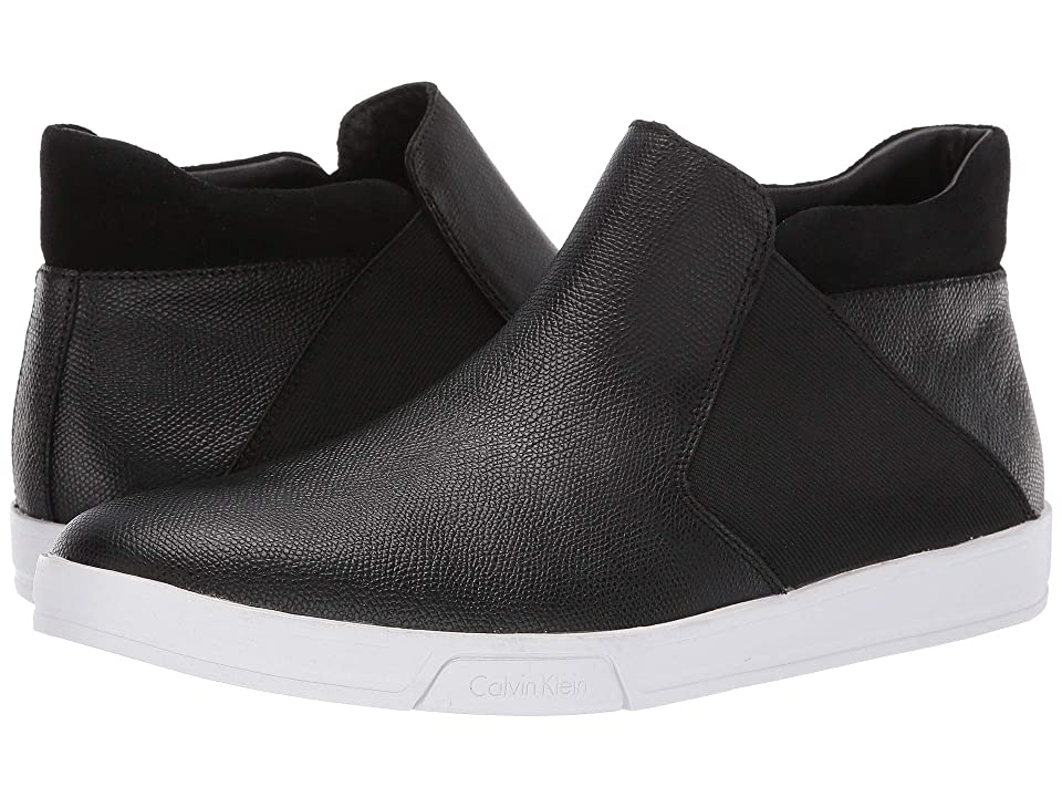 Calvin Klein Basilio (Black Small Tumbled Leather) Men