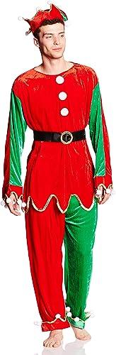 Christmas Fancy Dress Costume Elf Deluxe 3 Stück