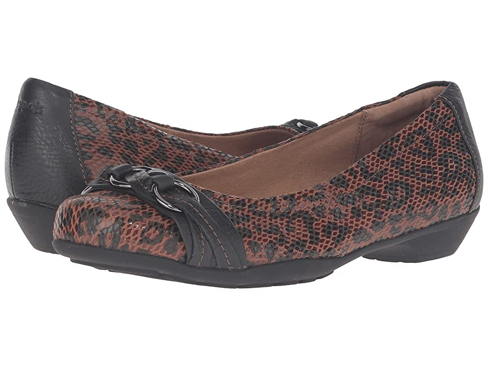 Comfortiva Posie Soft Spots (Caramel/Black) Women