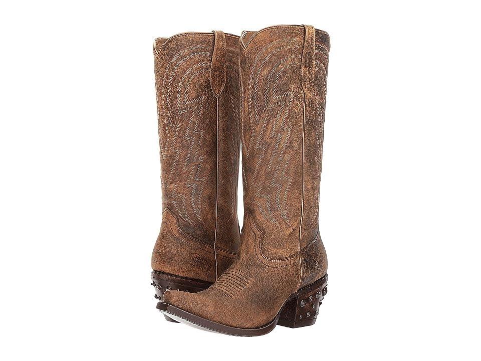 Ariat Diamante (Natural Norwood) Cowboy Boots