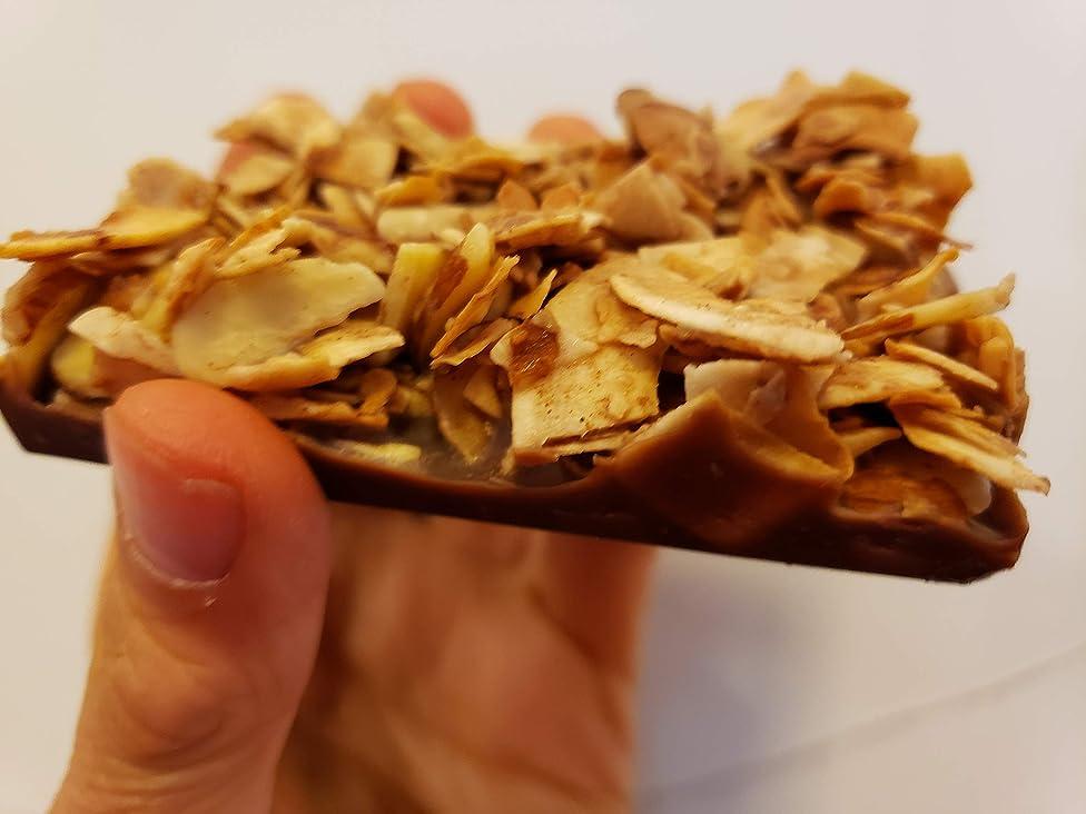 6 Keto Cookies - Keto Snacks Fat Bombs - Almond Coconut Dark Chocolate - Vegan Keto Gluten Free Low CARB Keto Snacks