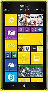 Nokia Lumia 1520 16GB Unlocked GSM 4G LTE Windows 8 Smartphone w/Carl Zeiss Optics 20MP Camera - Yellow (No Warranty)