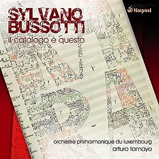 Bussotti, S.: Il catalogo e questo