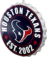 NFL Houston Texans Unisex 2016 Bottle Cap Wall Sign, One Size