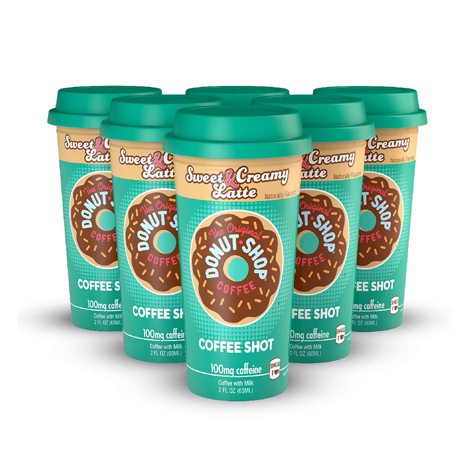 FORTO Donut Surprise price unisex Shop Coffee Shots Ready-to-D Creamy - Latte Sweet