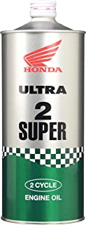 Honda(ホンダ) 2輪用エンジンオイル ウルトラ 2 SUPER FC 2サイクル 分離・混合用 1L 08245-99911 [HTRC3]