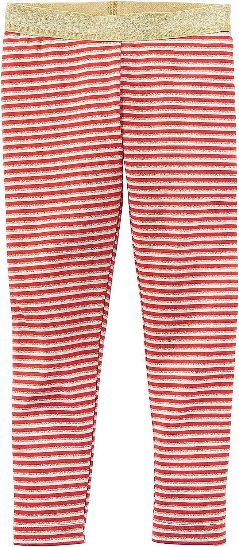 Carter's Girls' 2T-8 Glitter Striped Leggings