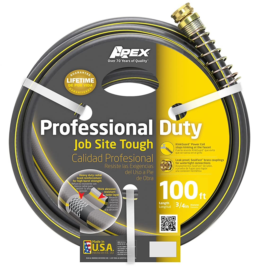 Apex, 988VR-100, Professional Duty Warer Hose,  3/4-Inch-by-100-Foot Hose