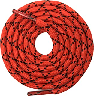 DELELE 2 Pair Thick Round Climbing Shoelaces Hiking Shoe Laces Boot Laces