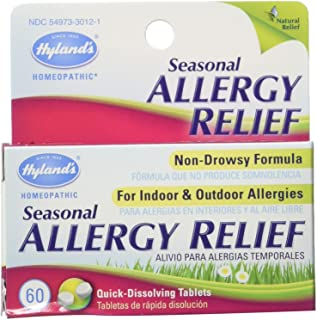 Hyland Allergy Seasonal Relief, 60 Count
