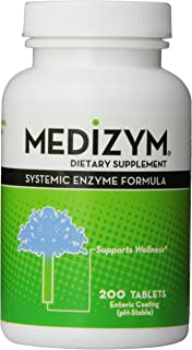 Medizym, Systemic Enzyme Formula, 200 Tablets