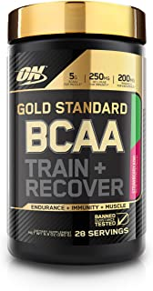 Optimum Nutrition Gold Standard BCAA, Strawberry Kiwi, 28 Servings, Branched Chain Amino Acids, 5g BCAA blend, 9.9 Ounce