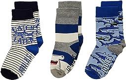 Brilliant Socks 3-Pack (Toddler/Little Kid)