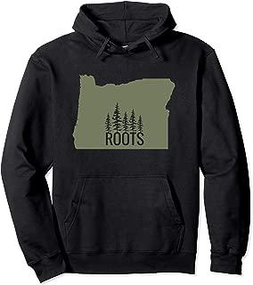 Oregon State Roots Hooded Sweatshirt - Green