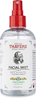 THAYERS Alcohol-Free Cucumber Witch Hazel Facial Mist Toner - 8 oz