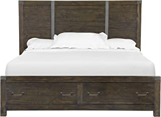 Magnussen B3561-55 Pine Hill Panel Bed with Storage Queen Rustic