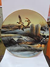 WINDOWS TO THE WILD Evening Company by Terry REDLIN Collector Plate Hadley House