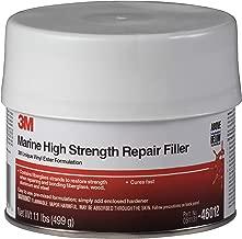 3M White 1 pt 46012 Marine High Strength Repair Filler-Pint