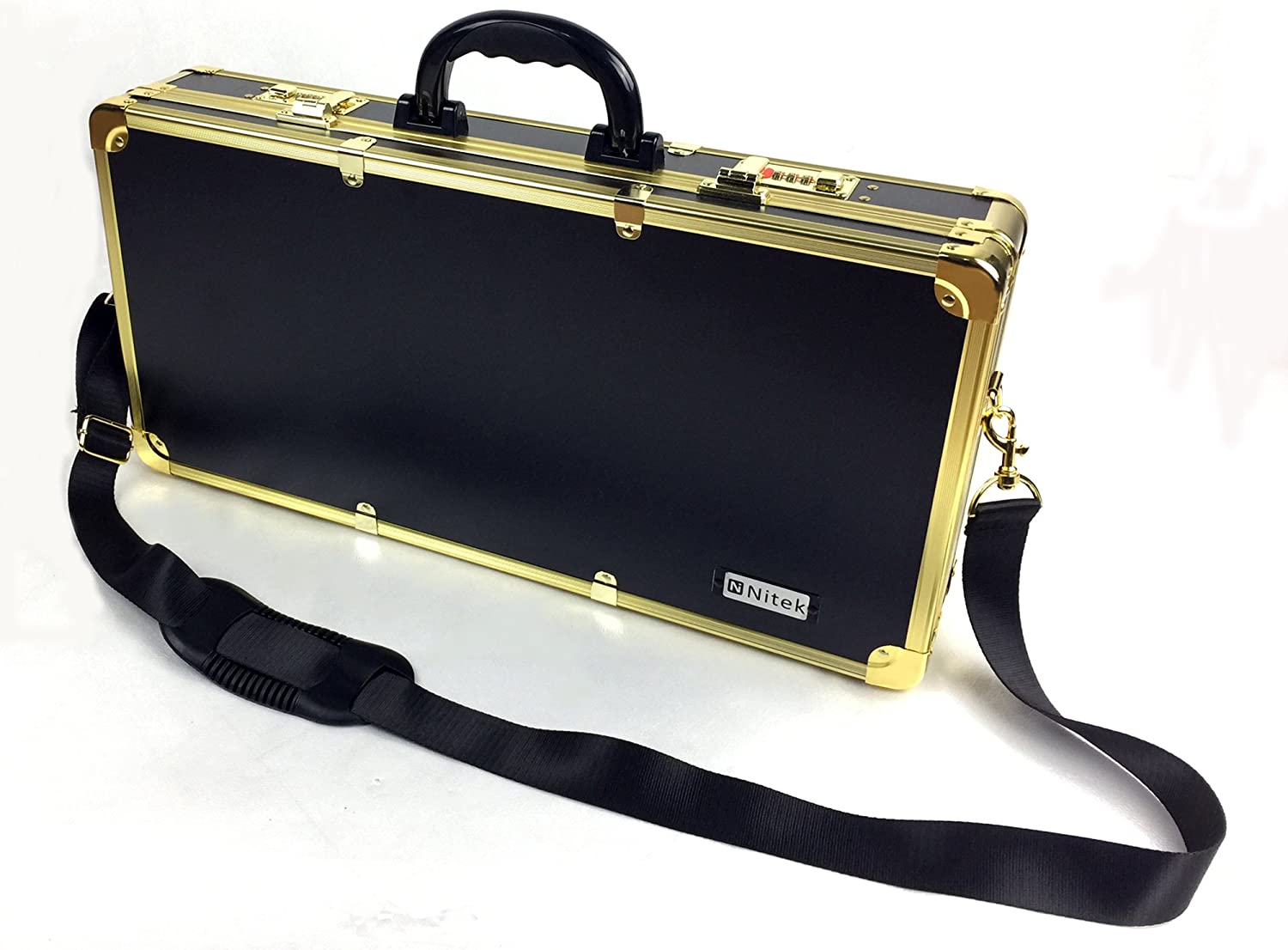 Barber box L22 xW3.9 xH10.6 Milwaukee Mall golden Gifts inches case barber color