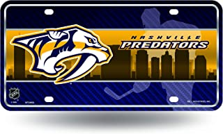 NHL Metal License Plate Tag