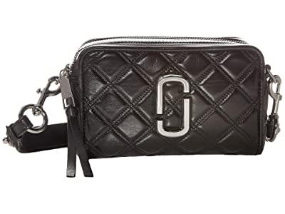 Marc Jacobs The Softshot 21 Crossbody (Black) Handbags