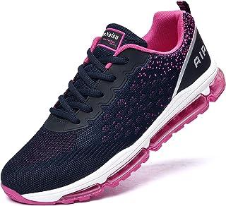 NewNaisu Air hardloopschoenen voor dames en heren, loopschoenen, sportschoenen, turnschoenen, luchtkussen, ademend, lichte...
