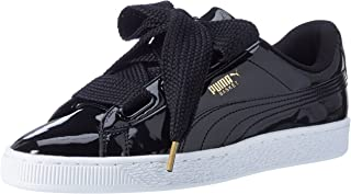 Puma Women's Basket Heart Patent WN's Low-Top Sneakers