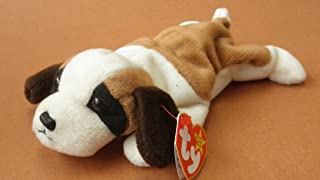 TY Beanie Babies Bernie the St. Bernard Dog Plush Toy Stuffed Animal by Unknown