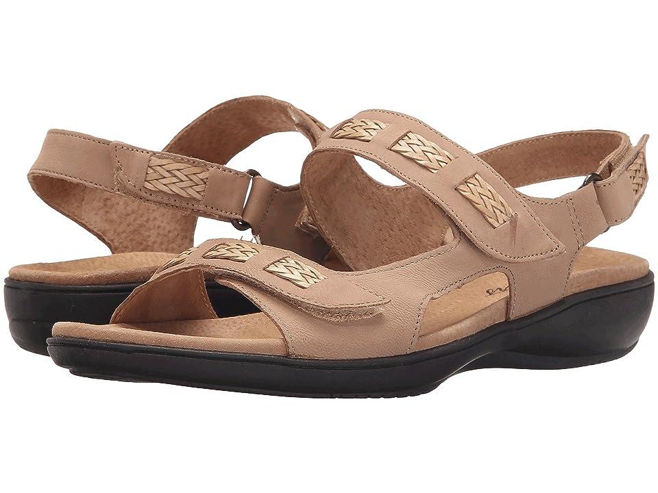 Trotters Kip (Sand Nubuck Leather) Women