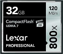 Lexar Professional 800x 32GB Compact Flash Card (LCF32GCRBNA800)