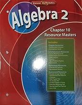 Algebra 2 Chapter 10 Resource Masters (Glencoe Mathematics)