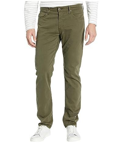 AG Adriano Goldschmied Tellis Modern Slim Leg Jeans in Dark Algae (Dark Algae) Men