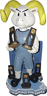 Forever Collectibles University of North Carolina Tar Heels Multiple Men's College Basketball National Championships Bobblehead Bobble Head - Individually Numbered to Only 216 - UNC
