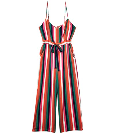 BB Dakota Flying Colors Printed Heavy Rayon Jumpsuit (Multi Stripe) Women