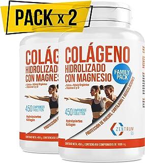 Colágeno hidrolizado con calcio para huesos y
