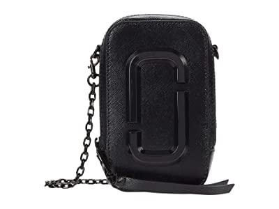 Marc Jacobs The Hot Shot Shoulder Bag (Black) Shoulder Handbags