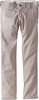 Dickies Big Boys' Skinny Straight Pant, Silver, 8