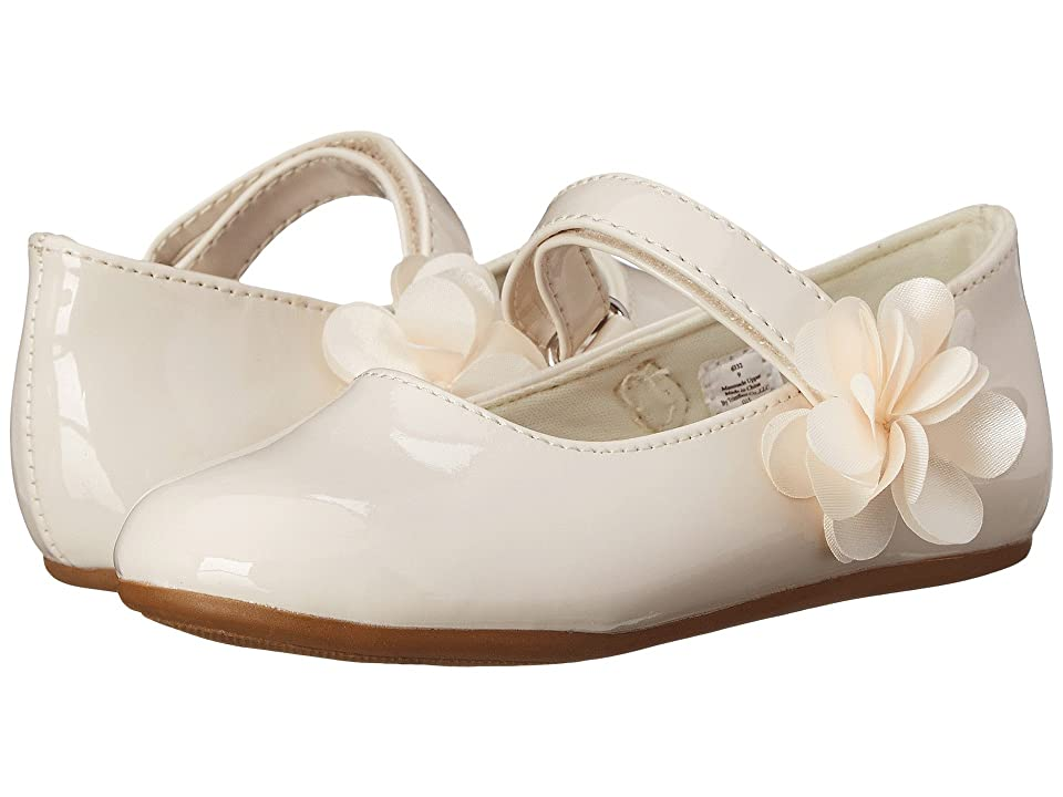 Vintage Style Children's Clothing: Girls, Boys, Baby, Toddler Baby Deer - Patent Maryjane InfantToddler Ivory Girls Shoes $32.00 AT vintagedancer.com