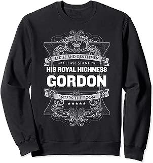 Gordon First Name Sweatshirt