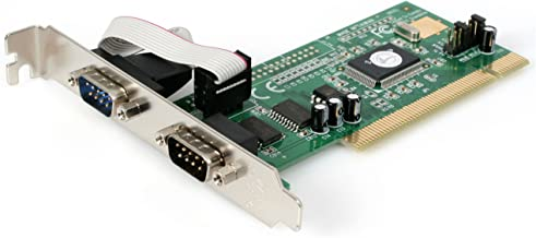 StarTech.com 2 Port PCI RS232 Serial Adapter Card with 16550 UART - Serial Adapter - PCI - RS-232 x 2 - PCI2S550