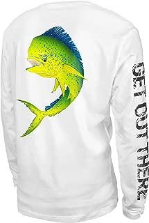 UPF 50+ Performance Long Sleeve Shirt for Fishing, Sailing, Kayaking
