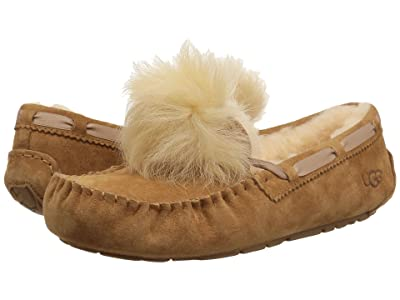 UGG Dakota Pom Pom (Chestnut) Women