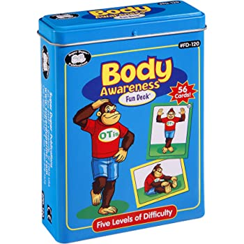 Super Duper Publications   Yoga Body Awareness and Exercise Fun Deck   Occupational Therapy Flash Cards   Gross Motor Movement Activity  Educational Learning Materials for Children