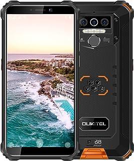 Rugged Smartphone Unlocked OUKITEL WP5(2020) Android 10 Cell Phone 8000mAh Battery 4GB+32GB Triple Camera 4 LED Flashlight...