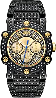 JBW Men's Phantom 1.00 ctw Diamond Chronograph