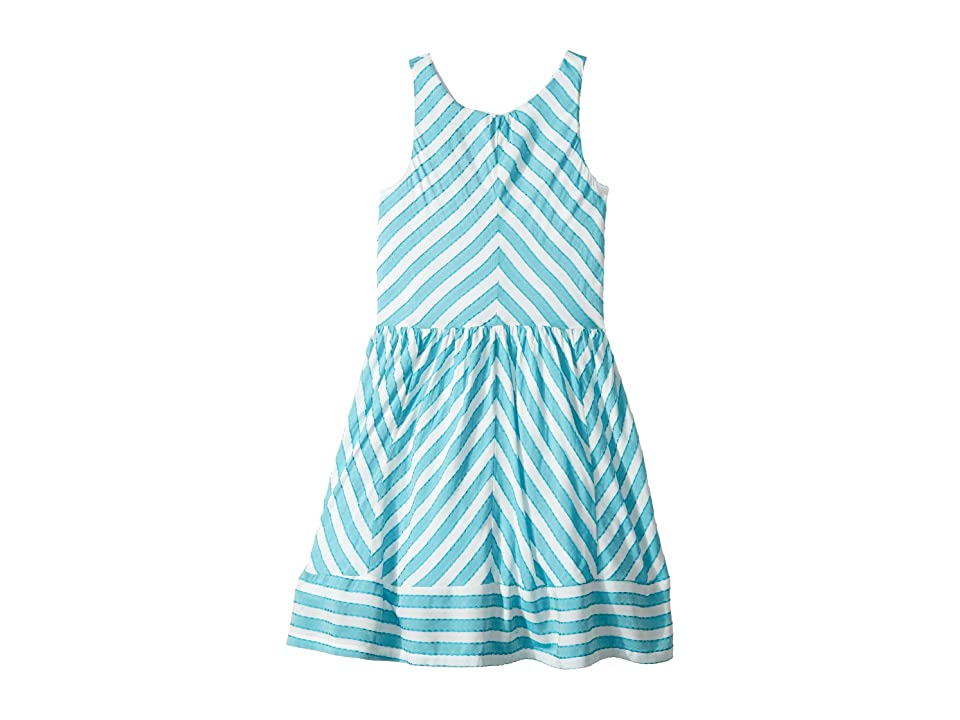fiveloaves twofish Moanni Dress (Little Kids/Big Kids) (Turquoise) Girl